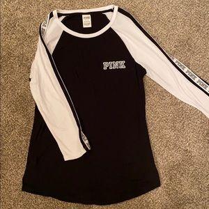 Victoria's Secret PINK 3/4 sleeve T-shirt